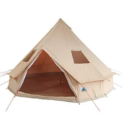 10T Outdoor Equipment  10T Tipi Zelt Desert Cotton
