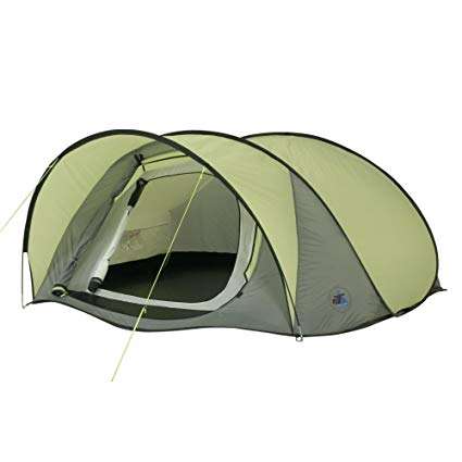 10T Outdoor Equipment  Zelt Pop-Up für 3 Personen