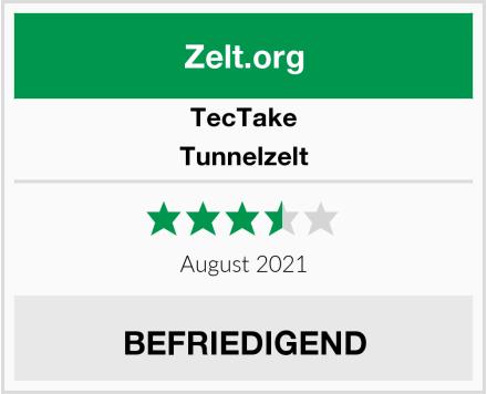 TecTake Tunnelzelt Test