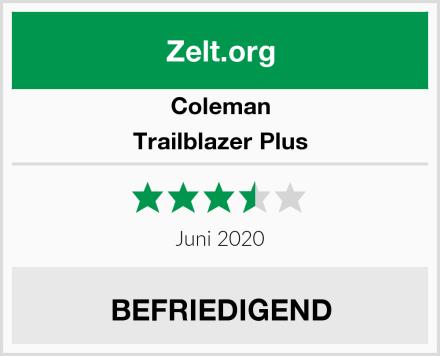 Coleman Trailblazer Plus Test