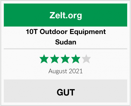 10T Outdoor Equipment Sudan Test