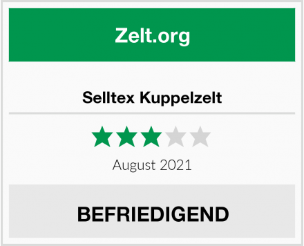 No Name Selltex Kuppelzelt Test