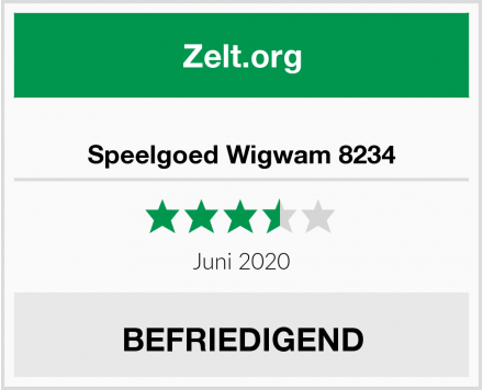 No Name Speelgoed Wigwam 8234 Test