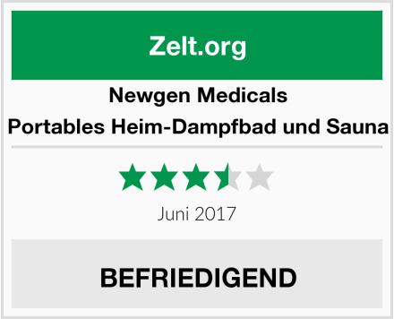 Newgen Medicals Portables Heim-Dampfbad und Sauna Test