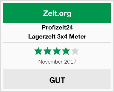 Profizelt24 Lagerzelt 3x4 Meter Test