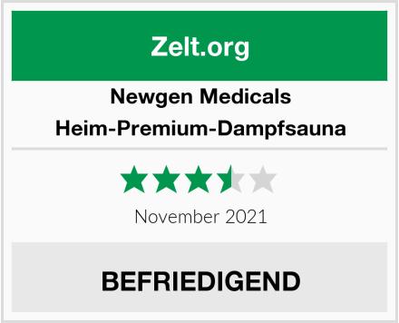 Newgen Medicals Heim-Premium-Dampfsauna Test