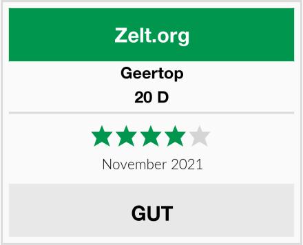 Geertop 20 D Test