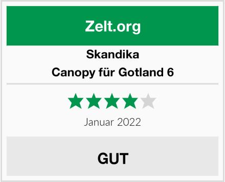 Skandika Canopy für Gotland 6 Test