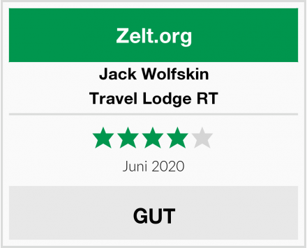 Jack Wolfskin Travel Lodge RT Test