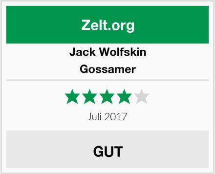 Jack Wolfskin Gossamer Test