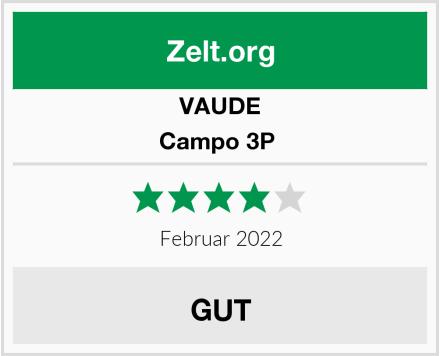 Vaude Campo 3P  Test