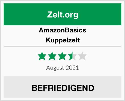AmazonBasics Kuppelzelt Test