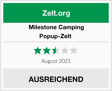 Milestone Camping Popup-Zelt  Test