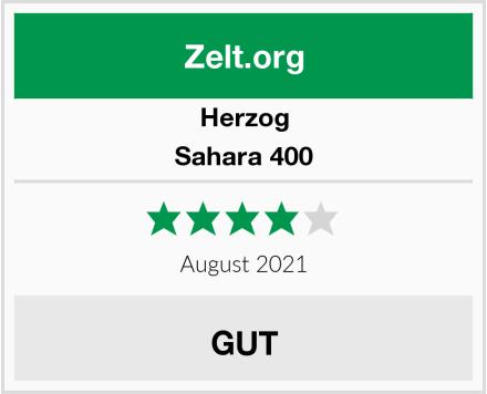 Herzog Sahara 400 Test