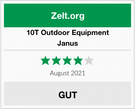 10T Outdoor Equipment  Janus Test
