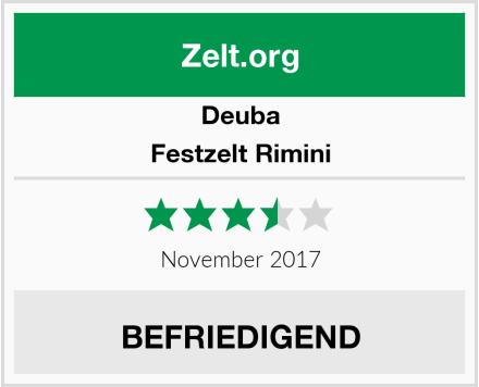 Deuba Festzelt Rimini Test