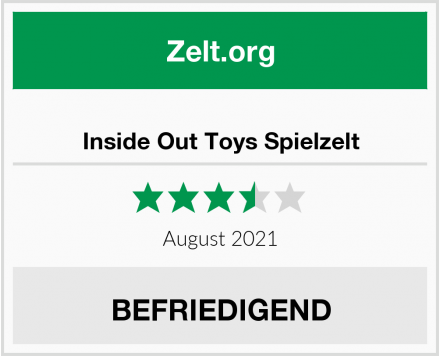 Inside Out Toys Spielzelt Test
