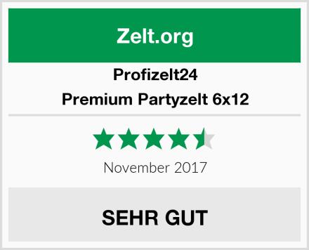 Profizelt24 Premium Partyzelt 6x12 Test