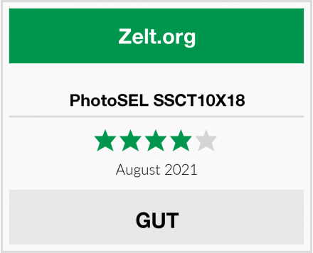 PhotoSEL SSCT10X18 Test