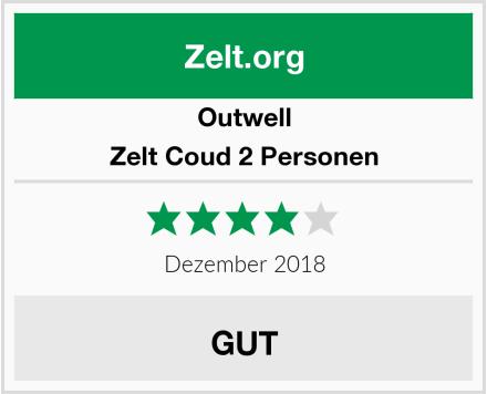 Outwell Zelt Coud 2 Personen Test