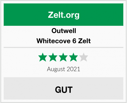 Outwell Whitecove 6 Zelt Test