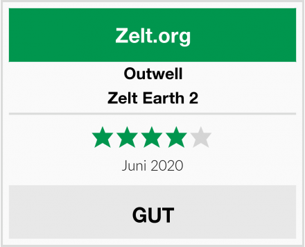 Outwell Zelt Earth 2 Test