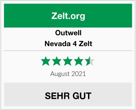 Outwell Nevada 4 Zelt Test