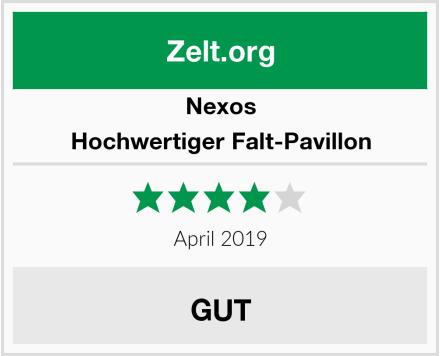 Nexos Hochwertiger Falt-Pavillon Test