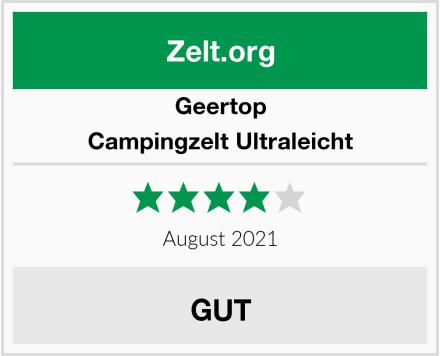 Geertop Campingzelt Ultraleicht Test