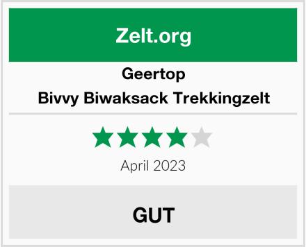 Geertop Bivvy Biwaksack Trekkingzelt Test