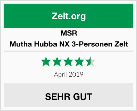 MSR Mutha Hubba NX 3-Personen Zelt Test