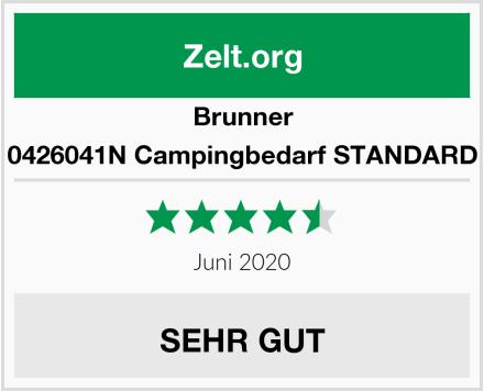 Brunner 0426041N Campingbedarf STANDARD Test