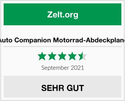 Auto Companion Motorrad-Abdeckplane Test