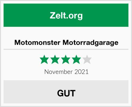 Motomonster Motorradgarage Test