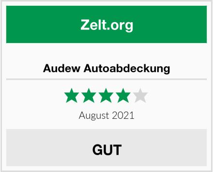 No Name Audew Autoabdeckung Test
