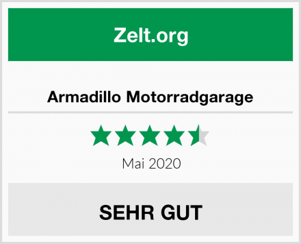 Armadillo Motorradgarage Test