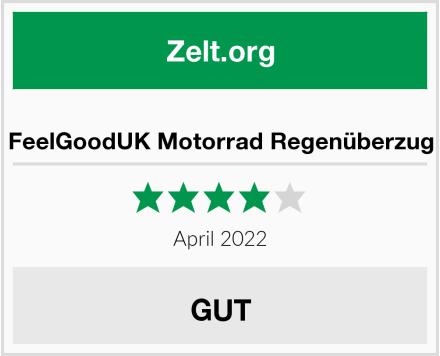 No Name FeelGoodUK Motorrad Regenüberzug Test