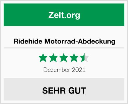 Ridehide Motorrad-Abdeckung Test