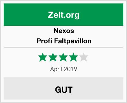Nexos Profi Faltpavillon Test