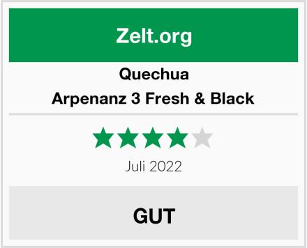 Quechua Arpenanz 3 Fresh & Black Test