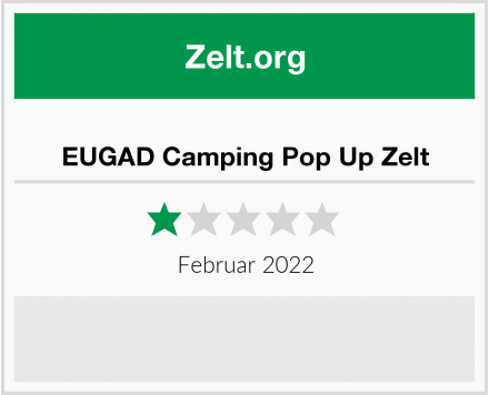 No Name EUGAD Camping Pop Up Zelt Test