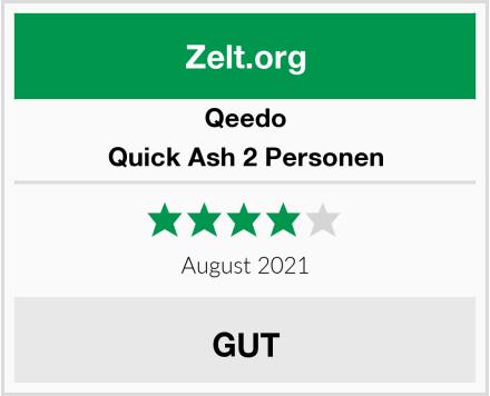 Qeedo Quick Ash 2 Personen Test