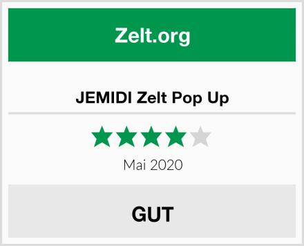JEMIDI Zelt Pop Up Test