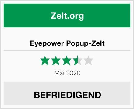 Eyepower Popup-Zelt Test