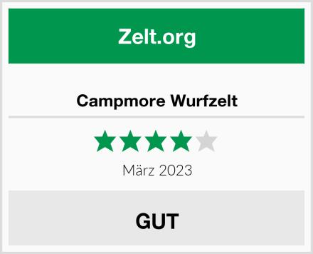 Campmore Wurfzelt Test