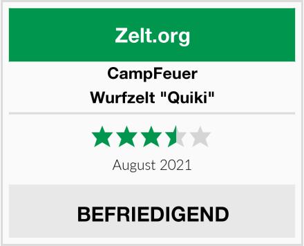CampFeuer Wurfzelt