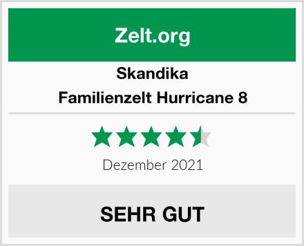 Skandika Familienzelt Hurricane 8 Test