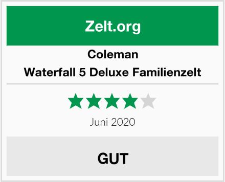 Coleman Waterfall 5 Deluxe Familienzelt Test