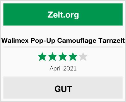 Walimex Pop-Up Camouflage Tarnzelt Test