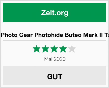 Buteo Photo Gear Photohide Buteo Mark II Tarnzelt Test
